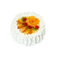 Mix Fruit Vanilla Cake