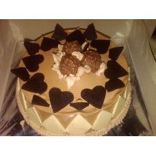 Ferrero Rocher Love Cake