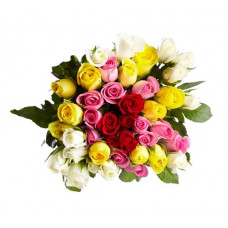 30 mix rose bunch